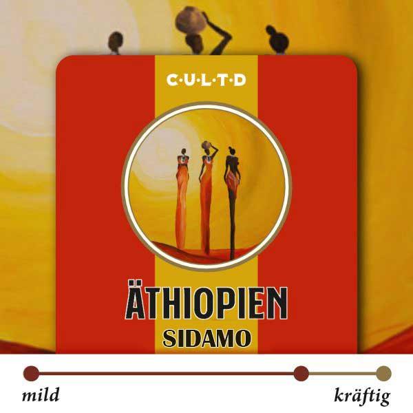 00 prozent Arabica Kaffee Aethopien