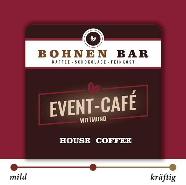 BohnenBar Event-Cafe Espresso Kaffee 100% Arabica